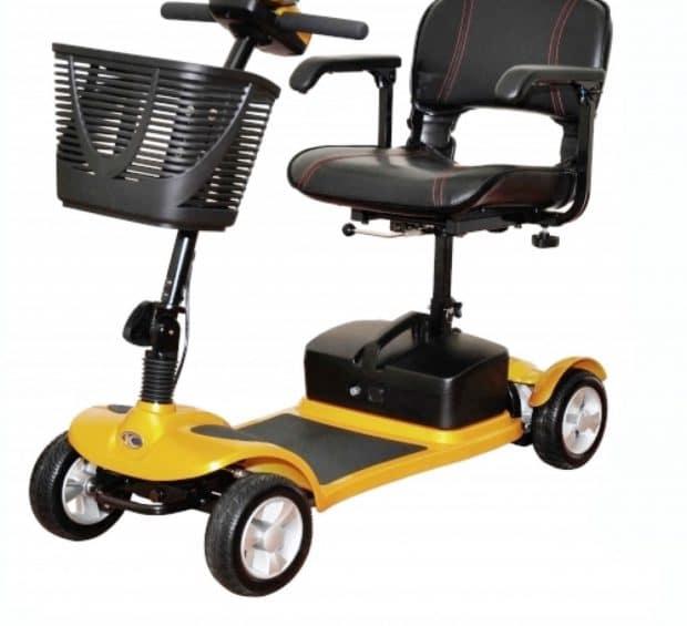 Kymco Funen in Lemon - Elektromobil für Senioren