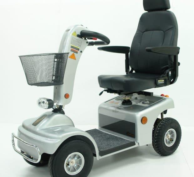 Shoprider Borkum in Silber - Elektromobil für Senioren